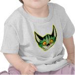 Fluorescent Cartoon Cat Baby T-Shirt