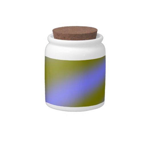 Fluorescent Clouds Candy Jar