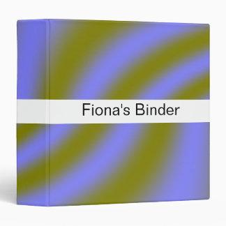 Fluorescent Clouds Custom Binder