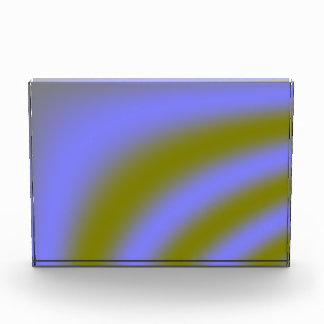 Fluorescent Clouds Decoration Acrylic Award