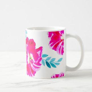 Fluorescent Florals Coffee Mug