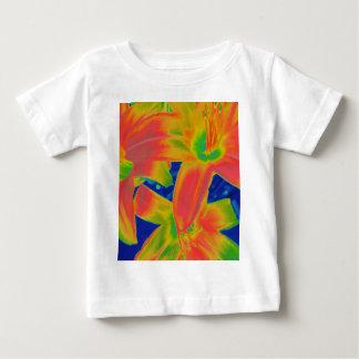 fluorescent flowers shirts