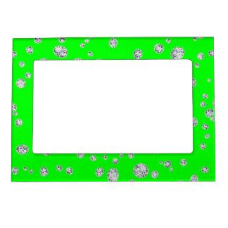 Fluorescent Green Magnetic Frame