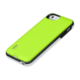 Fluorescent Green Solid Color iPhone SE/5/5s Battery Case