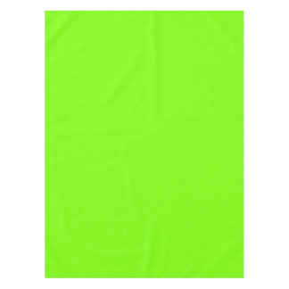 fluorescent green solid color tablecloth
