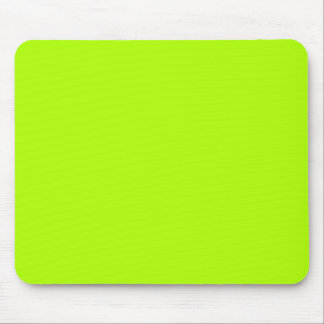 Fluorescent Green Solid Color Mouse Pad