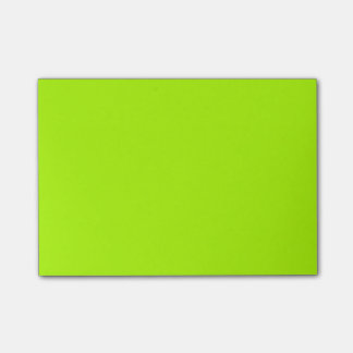 Fluorescent Green Solid Color Post-it® Notes