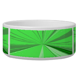 Fluorescent Green Vanishing Point Bowl