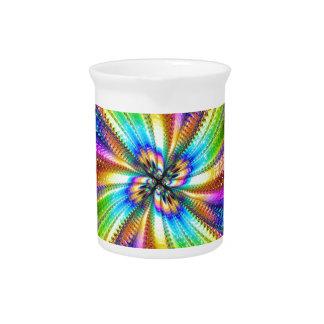 fluorescent image in star beverage pitchers