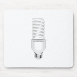 Fluorescent light bulb mouse pad