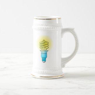 Fluorescent Light Bulb Mugs