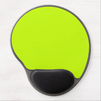 Fluorescent Lime Green Neon Yellow Personalized Gel Mouse Pad