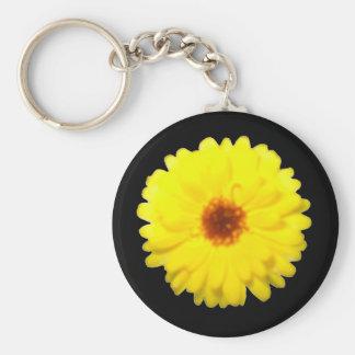 Fluorescent Marigold Keychain