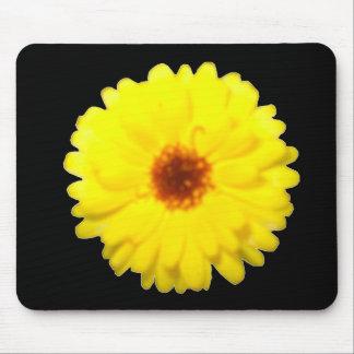 Fluorescent Marigold Mousepad