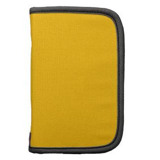 Fluorescent Orange Steel High End Color Matched Folio Planner