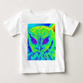 fluorescent owl infant t-shirt
