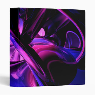 Fluorescent Passions Abstract Binder