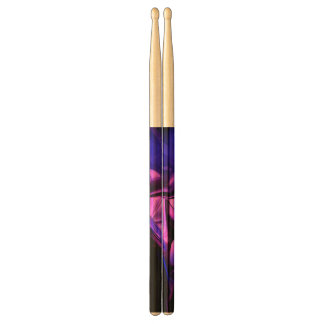 Fluorescent Passions Abstract Drumsticks