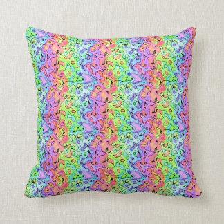 Fluorescent Pattern Pillow Case