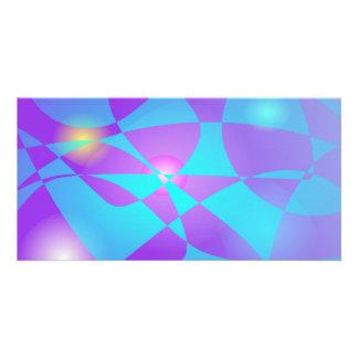 Fluorescent Photo Card Template