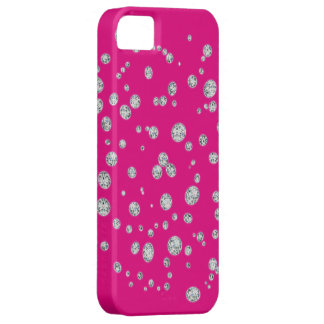Fluorescent Pink Mate iPhone Case