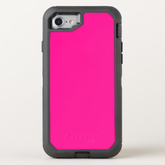 Fluorescent Pink OtterBox Defender iPhone 7 Case