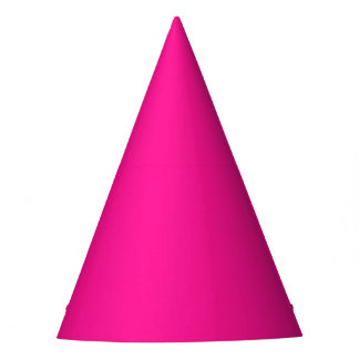 Fluorescent Pink Party Hat