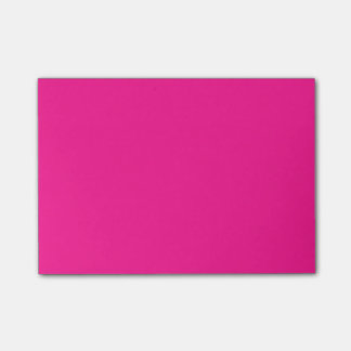 Fluorescent Pink Post-it Notes
