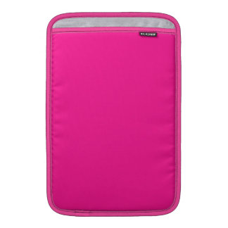 Fluorescent Pink Sleeve For MacBook Air