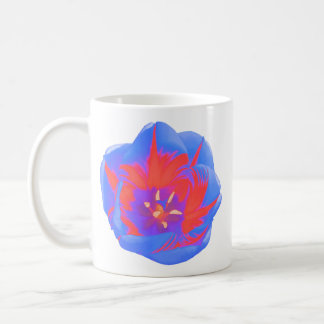 Fluorescent Tulip Mug
