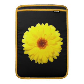 Fluorescent Yellow Marigold MacBook Air Sleeve