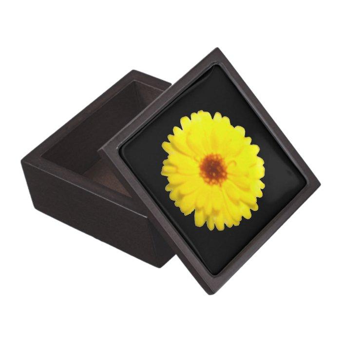 Fluorescent Yellow Marigold Premium Gift Box