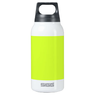 Fluorescent Yellow 10 Oz Insulated SIGG Thermos Water Bottle