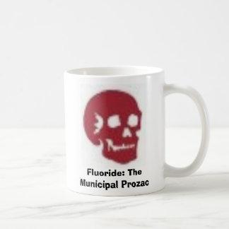Fluoride: The Municipal Prozac Coffee Mug
