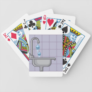 Fluoride water poison bicycle playing cards