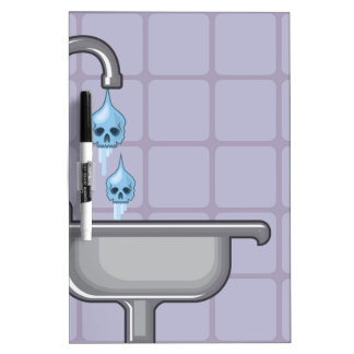 Fluoride water poison dry erase board