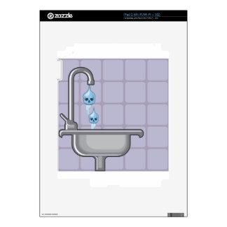 Fluoride water poison iPad 2 skins