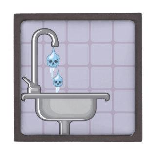 Fluoride water poison jewelry box