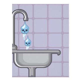 Fluoride water poison letterhead