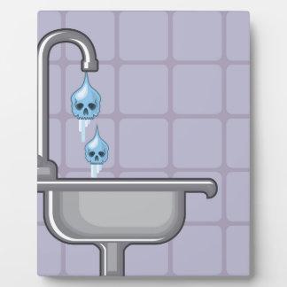 Fluoride water poison plaque