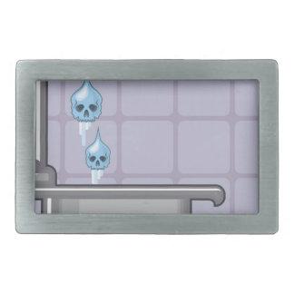 Fluoride water poison rectangular belt buckle