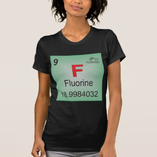 Fluorine Individual Element of the Periodic Table T-Shirt