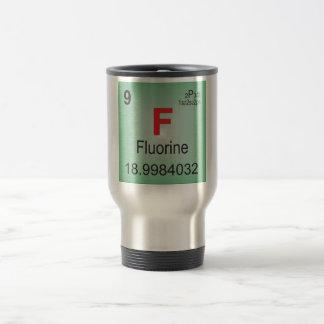 Fluorine Individual Element of the Periodic Table Travel Mug