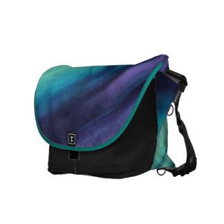 Fluorite Laptop Messenger Shoulder Bag PeacockTrim