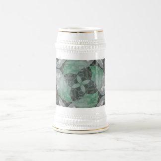 Fluorite spin beer stein