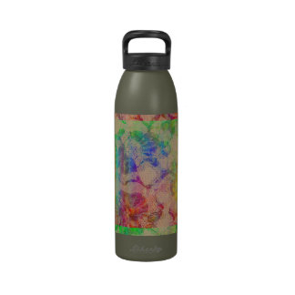 Fluoro Lace Roses Water Bottles