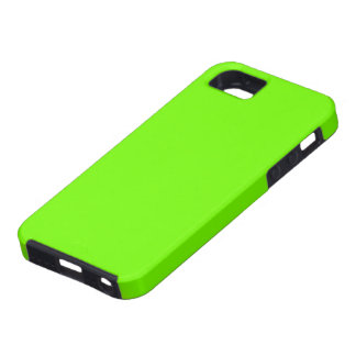Fluoro Lime-Green iPhone Case iPhone 5 Case
