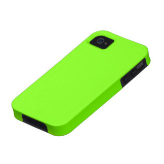 Fluoro Lime-Green iPhone Case Vibe iPhone 4 Cover