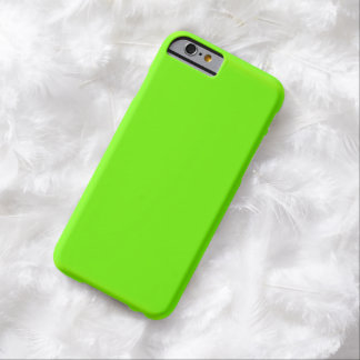 Fluoro Lime-Green iPhone Case Barely There iPhone 6 Case