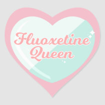 Fluoxetine Queen Sticker